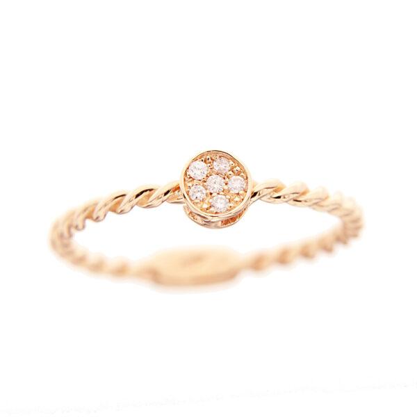 anello donna oro e diamanti