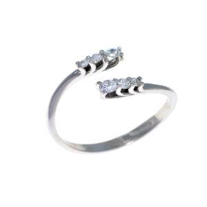 anello oro con diamanti