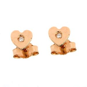 orecchini cuore