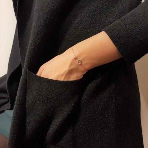 braccialetto con cuore