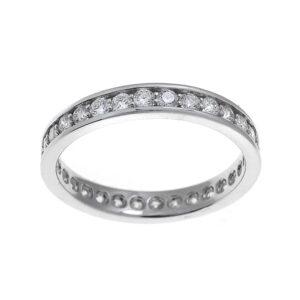 anello eternity donna