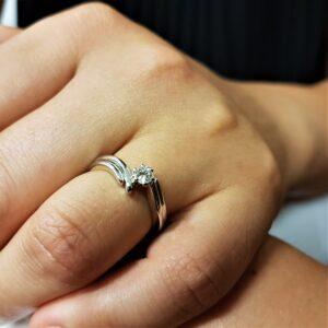 anello solitario